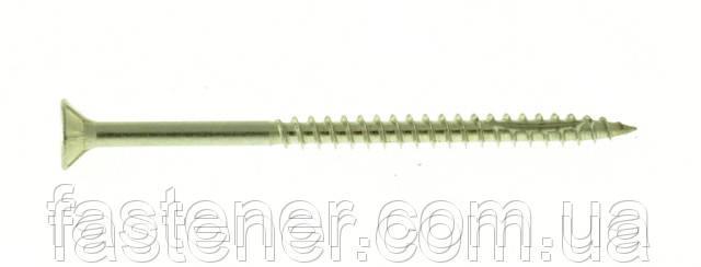 Саморез по дереву Cutters 5,0х80, нержавеющая сталь A2, потай TX25, упак.- 100 шт, Швеция, фото 1