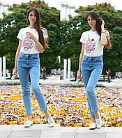 Стильные джинсы Mom турецкие В20547, фото 1