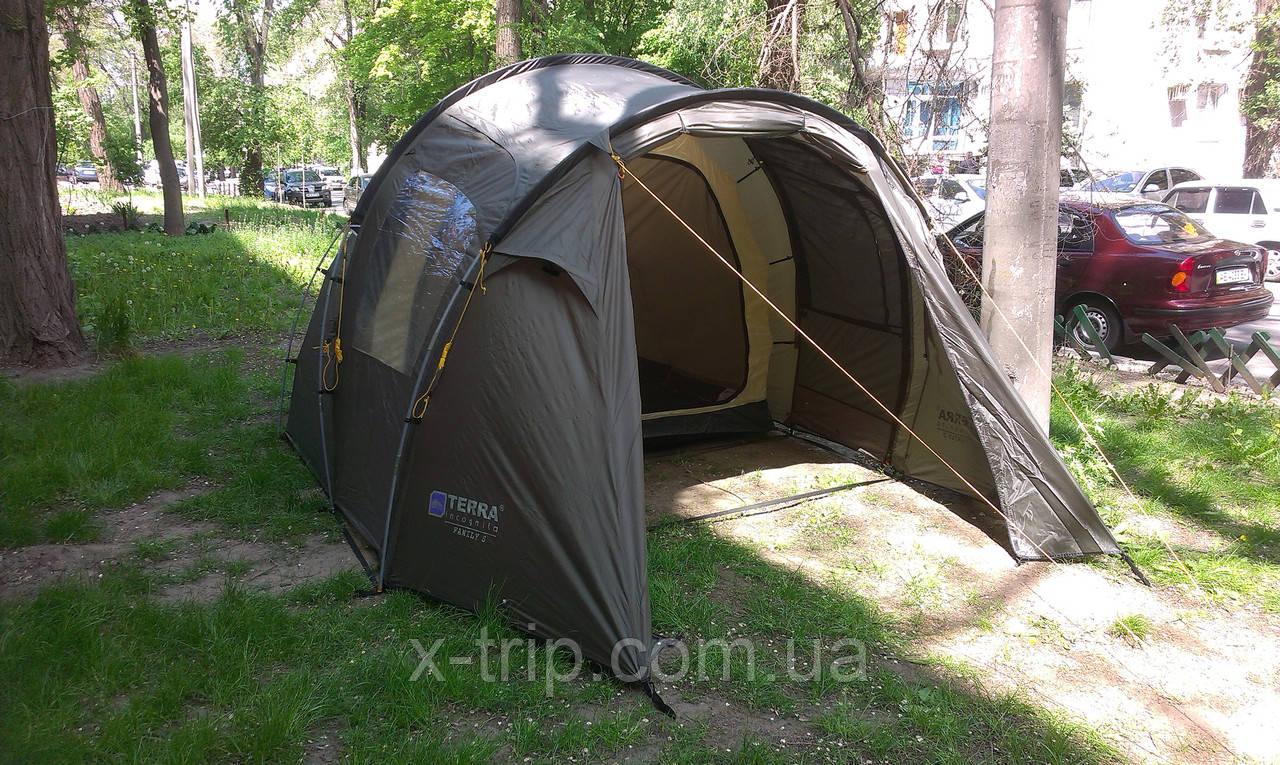 Пятиместная кемпиновая палатка Terra Incognita Family 5
