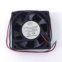 Вентилятор 12 V 60x60x25 (0.20A)