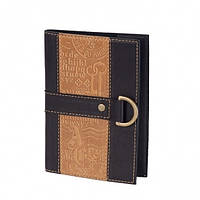 Кожаная Обложка на паспорт Ключики