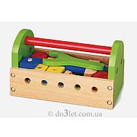 """Игровой набор """"Ящик с инструментами"""" Viga Toys 50494VG"""