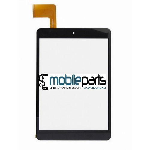 """Оригинальный Сенсор (Тачскрин) для планшета 7.85"""" XN1308V1 (197*132 мм,45 pin) (Черный-Самоклейка)"""