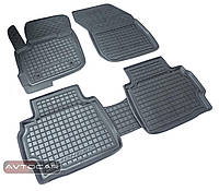 Коврики в салон SEAT LEON 5 ДВЕРЕЙ с 2013- , цвет черный, Avto-Gumm