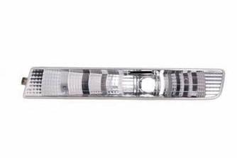 Фонарь указателя поворота на Opel Vivaro  01->06  L (левый, белый, в бампере) — Depo(Тайвань) - 442-1601L-AE