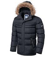 Куртка зимняя Braggart теплая 52, Графит