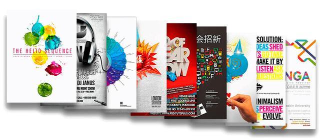 Дизайн плакатов в Днепре