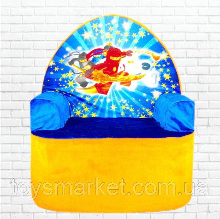 Детское мягкое кресло,Ниндзя