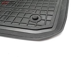 Коврики в салон VW GOLF VI с 2009-2013 , цвет черный, Avto-Gumm