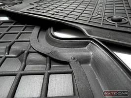 Коврики в VW GOLF VII с 2013- , цвет черный, Avto-Gumm