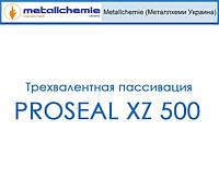Пассивация цинковых/никелевых осаждений; в зависимости от установки содержит от сине-прозрачных PROSEAL XZ 500