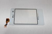 Оригинальный тачскрин / сенсор (сенсорное стекло) для LG Optimus L3 Dual SIM E405 (белый цвет)