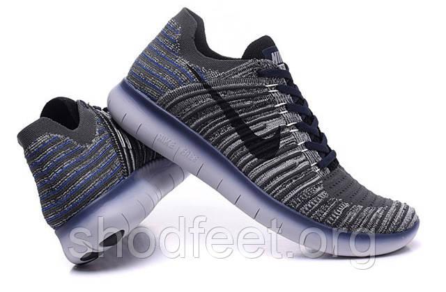 Кроссовки мужские Nike Free RN Motion Flyknit Grey