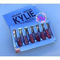 MINI KIT | MATTE LIQUID LIPSTICKS Набор из 6 матовых жидких губных помад
