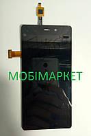 Дисплейний модуль (дисплей + сенсор) Fly iQ453 black