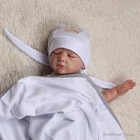 """Детская Бандана """"Royal"""" (белая), фото 1"""