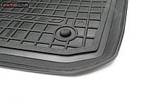 Коврики в автомобиль Fiat  500  2007-  черный, кт - 4шт