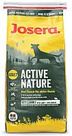 Josera Active Nature 15 кг - корм для активных собак, рис,мясо птицы и ягненка