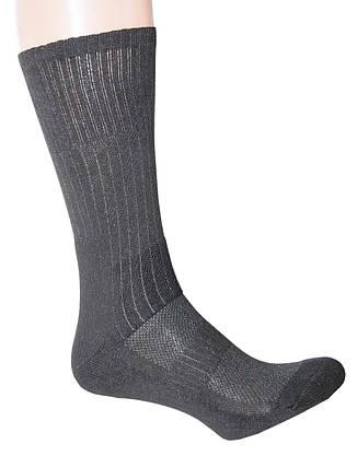 """Носки черные трекинговые с текстурными термозонамы  """"BLACK"""", фото 2"""