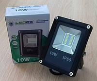 Светодиодный прожектор 10W STANDART серия SMD slim 6500K 800lm