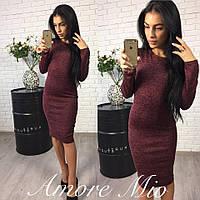 Платье Ткань-ангора Размеры С М