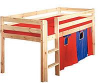Детская кровать - чердак из массива бука Экстра