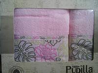 Распродажа махровых полотенец Pupilla баня +лицо