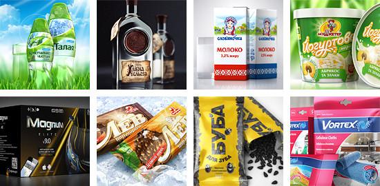 Дизайн упаковки и этикетки в Днепре
