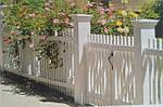 Обрамление участка- забор