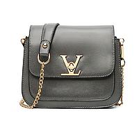 Сумка женская клатч Louis Vuitton Classic через плечо