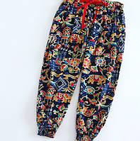 Легкие широкие брюки для девочки.