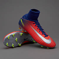 БУТСЫ NIKE MERCURIAL SUPERFLY V FG 831943-409 JR (Оригинал)