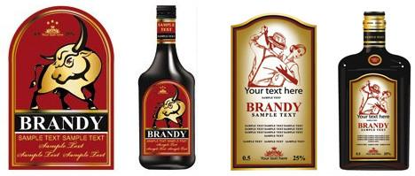 Дизайн этикетки на бутылку в Днепре