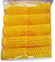 Comair, Пластмассовые бигуди длинные 10 штук, (65 мм/30 мм)