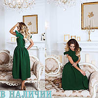 52756fa398b Симпатичное женское платье с рюшами Heser