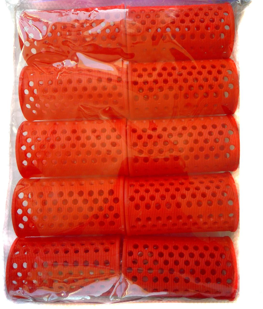 Comair, Пластмассовые бигуди длинные 10 штук, (65 мм/35 мм)