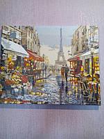 """Раскраска по номерам """"Париж после дождя Худ МакНейл Ричард""""  1"""