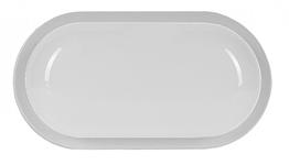 LUXEL Светодиодный светильник 20W IP65 овал белый
