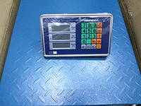 ТОРГОВЫЕ ВЕСЫ Wimpex 500 kg 6v 45X60 Folder Полный металл Полный металл