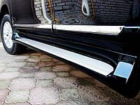 Боковые пороги Toyota Land Cruiser Prado 150 в стиле Lexus