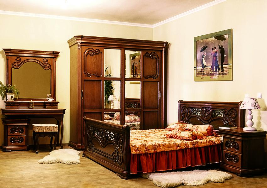 Спальня Камелия ЮрВит (комплект)