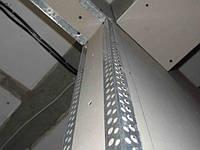 Уголок алюминиевый: монтаж гипсокартона