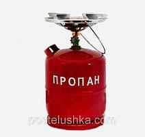 Газовый баллон, набор примус турист 8 литров