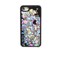 "Чехол ""Переливающиеся сердца"" для IPhone 5/5s/SE"