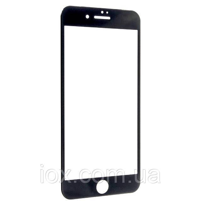 Защитное стекло FULL SCREEN в упаковке для iPhone 6/6s глянец (черный)