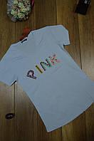 Модная футболка  лето с бусинками Турция