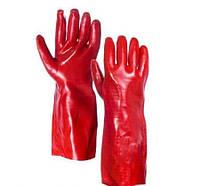 Перчатки бензо-маслостойкие БМС 35см