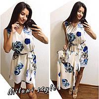 """Одинаковые красивые платья для мамы и дочки """"Мама и дочка"""" В20554"""