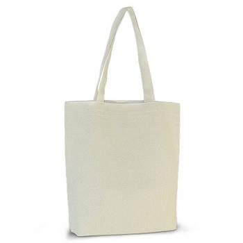 Еко-сумка для друку 35х38х7 див. з дном. Бавовна