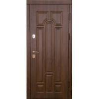 Двери входные Эконом Металл/МДФ (труба, улица)